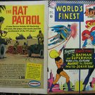 WORLD'S FINEST COMICS# 166 May 1967 Joker Muto Swan/Klein Cover FULL COVERS ONLY