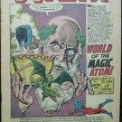 THE ATOM# 19 Jun-Jul 1965 2nd Zatanna App Gil Kane Art COVERLESS Silver Age KEY