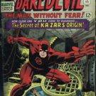 DAREDEVIL# 13 Feb 1966 Origin Kazar Kirby/Romita Cover Silver Age KEY: 8.0 VF