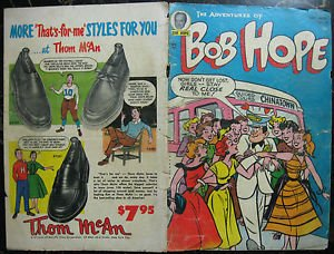 ADVENTURES OF BOB HOPE# 29 Oct-Nov 1954 Owen Fitzgerald ORIG FULL COVERS ONLY!