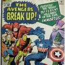 AVENGERS# 10 Nov 1964 1st Immortus Jack Kirby Covr Don Heck Art SA KEY: 7.5 VF-