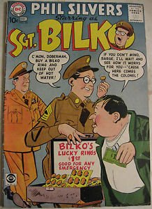 SGT BILKO# 10 Dec 1958 Starring Phil Silvers, Based on CBS TV Show: 7.0 FN-VF