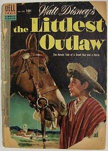 FOUR COLOR# 609 Dec 1954 WALT DISNEY'S THE LITTLEST OUTLAW Golden Age: 1.0 FAIR