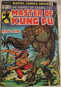 MASTER OF KUNG FU# 19 Aug 1974 Man-Thing Kane/Palmer Art: 9.0 VF-NM