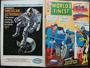 WORLD'S FINEST COMICS# 169 Sep 1967 3rd Batgirl ORIGINAL FULL COVERS ONLY!