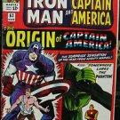 TALES OF SUSPENSE# 63 Mar 1965 1st SA Origin Capt America Kirby KEY: 7.0 FN-VF