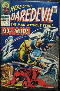 DAREDEVIL# 23 Dec 1966 2nd Gladiator Masked Marauder Colan Cov/Art SA: 8.0 VF