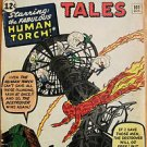STRANGE TALES# 101 Oct 1962 Begin Human Torch Series FF Kirby Silver Key 6.5 FN+