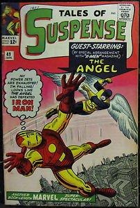 TALES OF SUSPENSE# 49 Jan 1964 1st X-Men x/over 1st Tales of Watcher KEY: 8.0 VF
