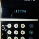 MIIDA 606 HANDHELD CALCULATOR BLUE VFD 1970s AC ADAPTER OWNERS MANUAL WORKS: EX