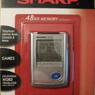 SHARP PDA PERSONAL ORGANIZER YO-P5A: 48 KB Memory Telephone, Schedule, Memo NEW
