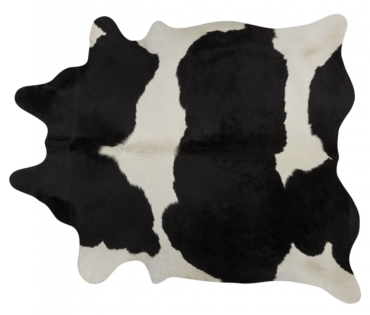 Black and White Brazlian Area Rug - Size Large