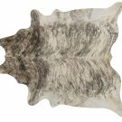 Light Brindle Brazilian Cowhide Area Rug - Size LARGE