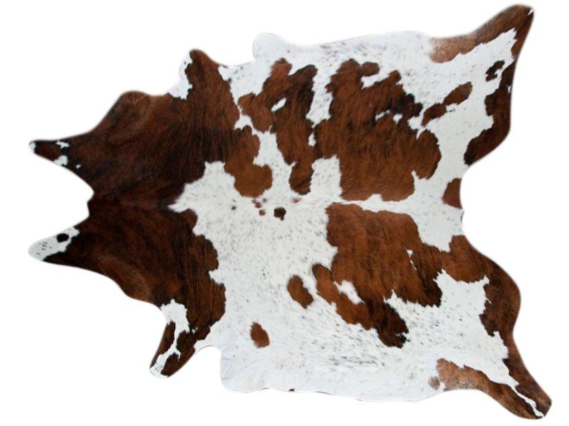 Cowhide Rug Tricolor -X-Large