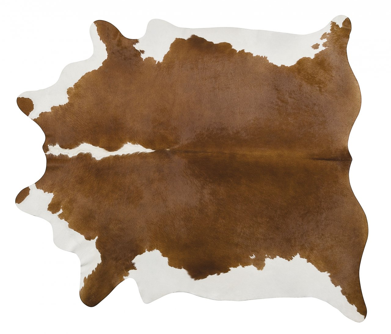 Hereford Brazilian Cowhide Rug Cow Hide Area Rugs - Size XXL