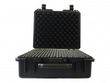 A Drone hard case, pluck foam BB-1478 dustproof waterproof storage Black
