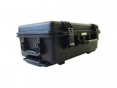Drone hard case pluck foam BB-2666 dust and waterproof storage Black
