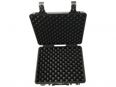 Remote control hard case pull pluck foam BB-2730 dust and waterproof storage black
