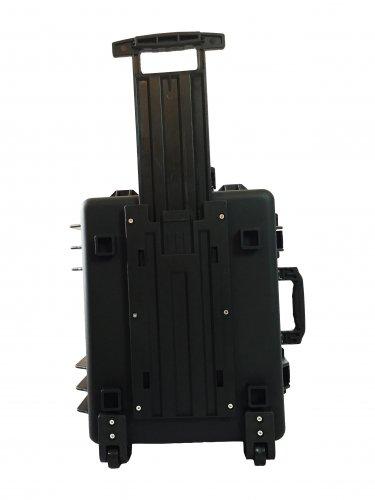 Sailing Waterproof hard case pluck foam BB-4195 dust and waterproof storage black