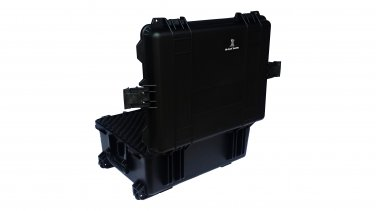 Medical hard case pluck foam BB-5553 dust and waterproof storage black