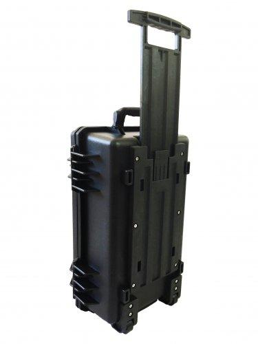 Tool case pluck foam BB-2666 dust and waterproof storage Black