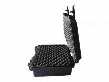 Tool hard case pluck foam BB-0660 dust and waterproof storage black