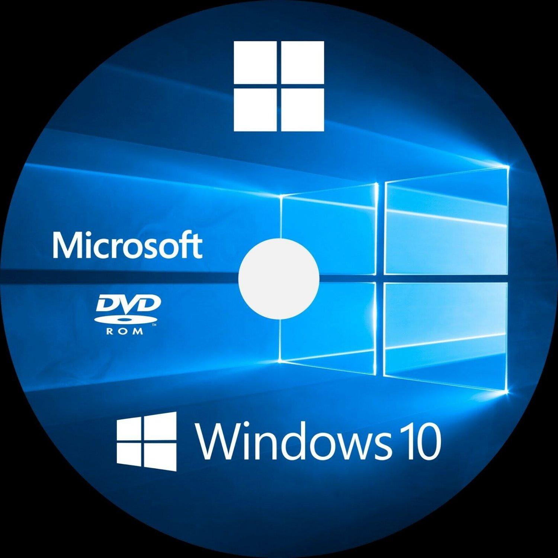 Dell Precision Windows 10 OEM Professional installation DVD