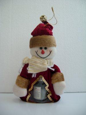 Snowman chocolate bag