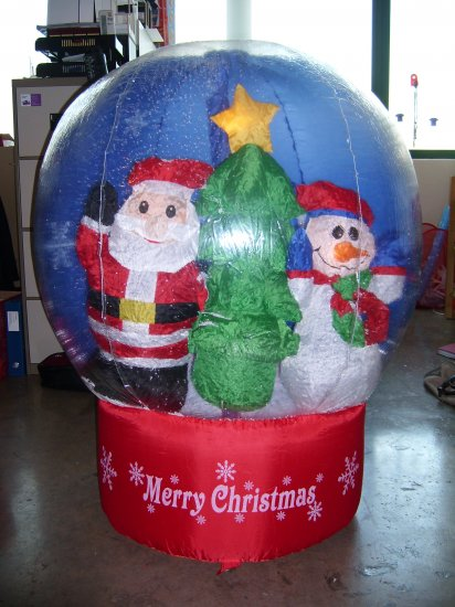 Christmas decoration inflatable ball