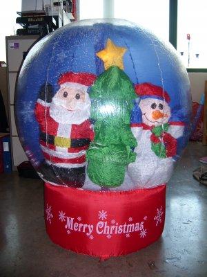 Christmas decoration inflatable ball