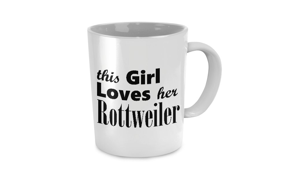 Rottweiler - Coffee Mug - Dog Gifts For Women - Gifts for Dog Lovers