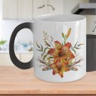 Tiger Lily Bouquet v2 - Color Changing Mug