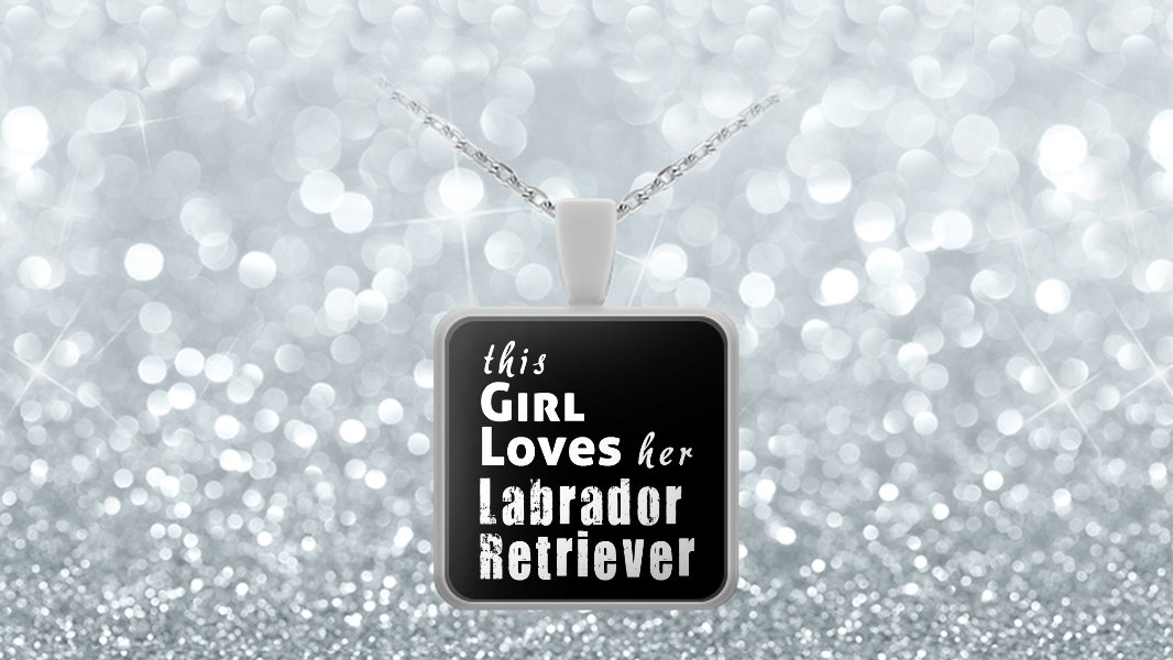 Labrador Retriever - Necklace - Dog Gifts For Women - Gifts for Dog Lovers