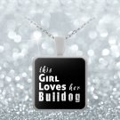 Bulldog - Necklace - Dog Gifts For Women - Gifts for Dog Lovers