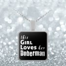Doberman - Necklace - Dog Gifts For Women - Gifts for Dog Lovers