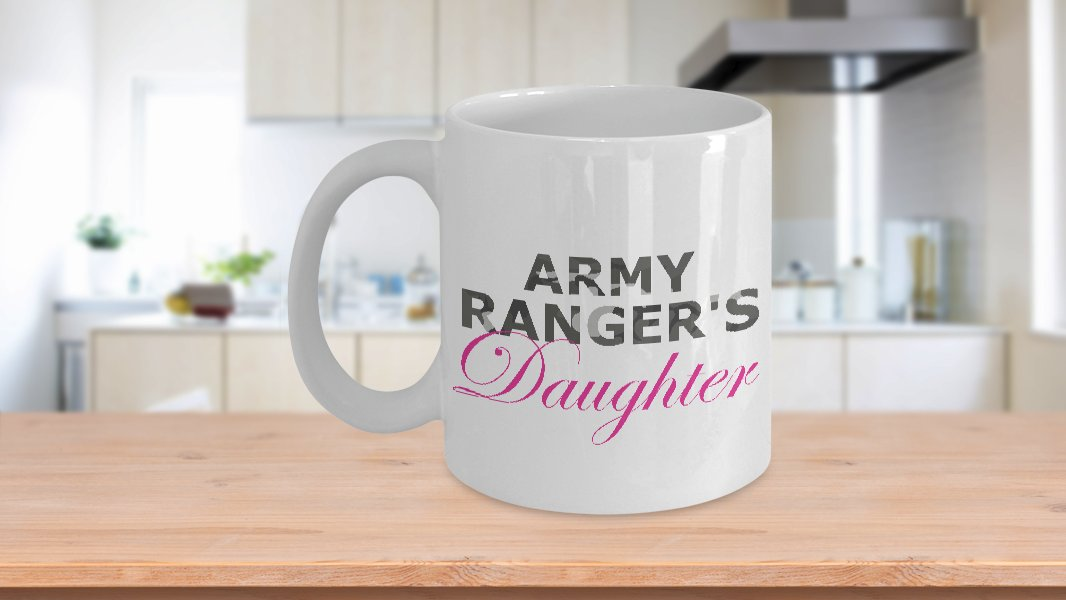 Army Ranger's Daughter - 11oz Mug - White Ceramic Novelty Coffee / Tea Cup / Mug