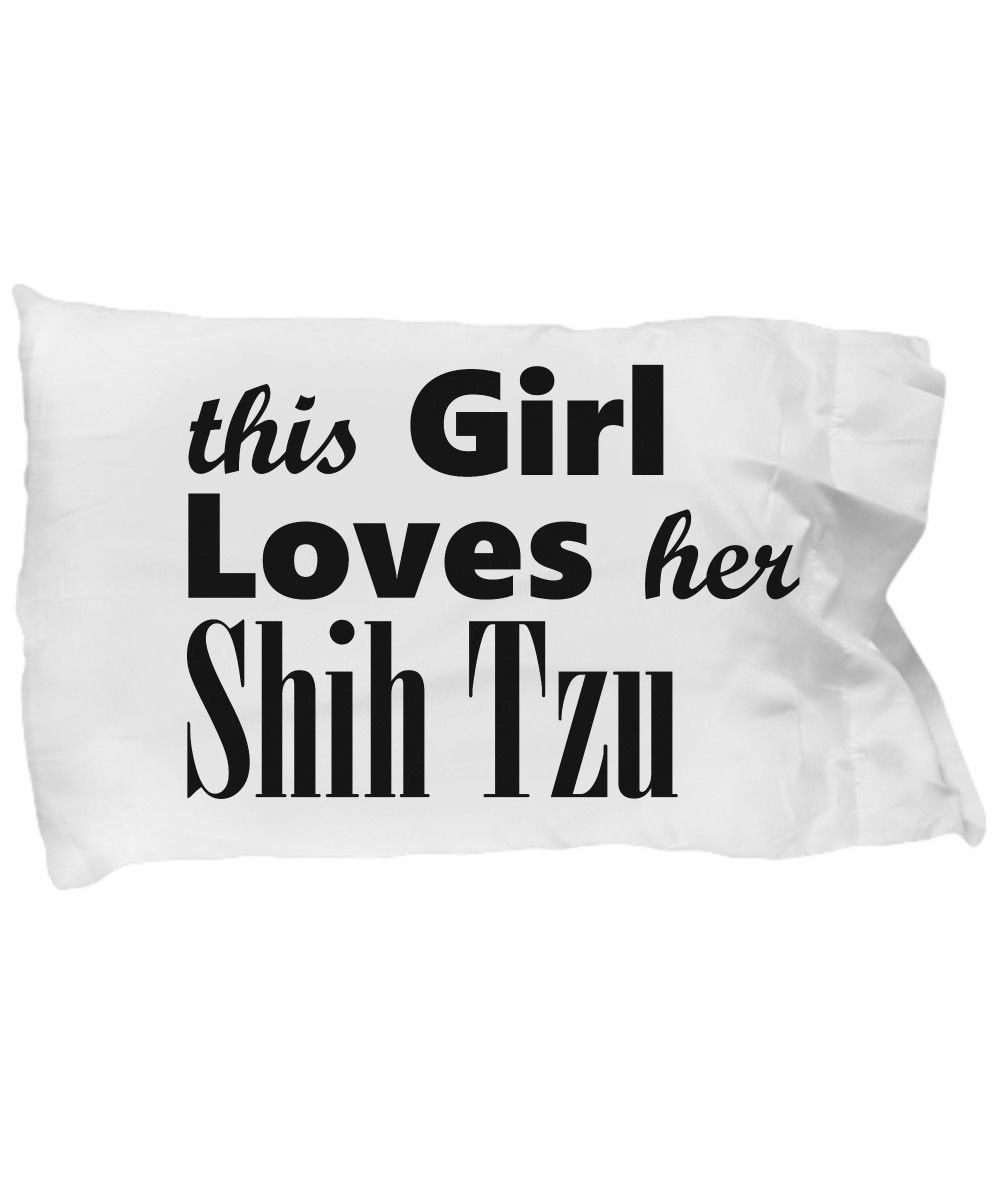 Shih Tzu - Pillow Case - Dog Gifts For Women - Gifts for Dog Lovers