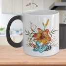 Tiger Lily Bouquet - Color Changing Mug