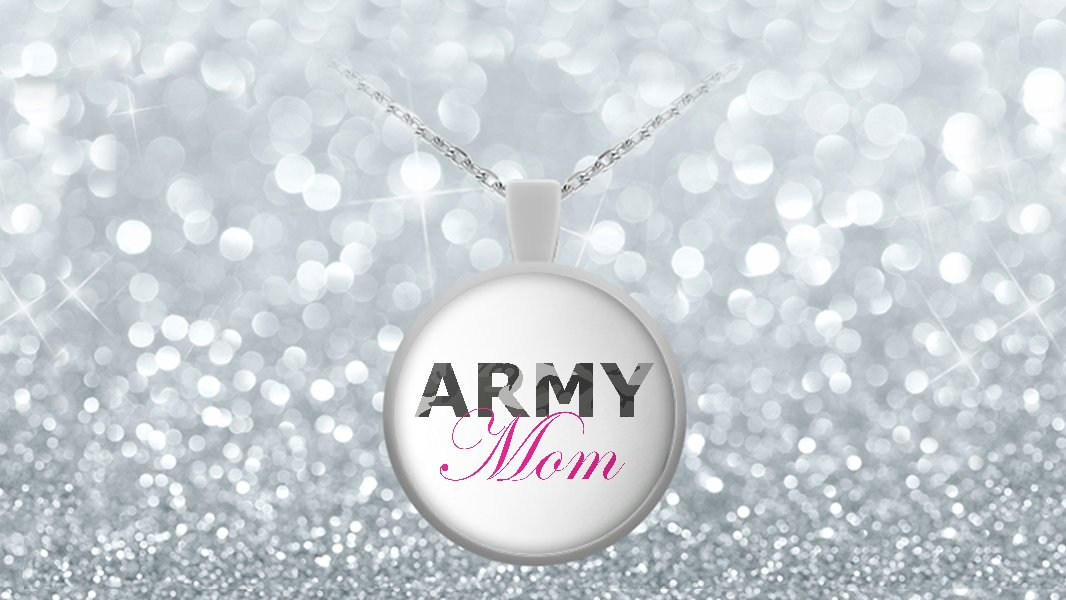 Army Mom - Necklace
