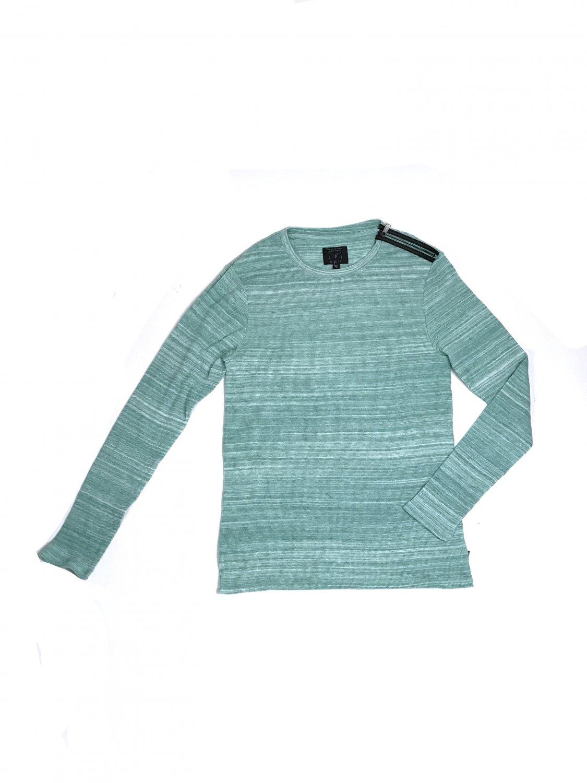 Blue T-shirt long sleeves GUESS