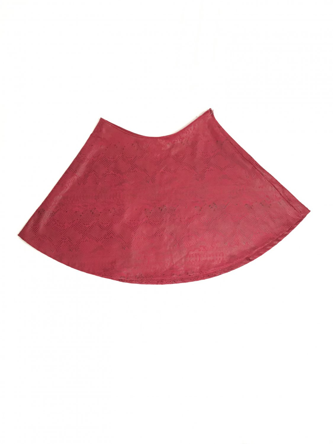 Red skirt in vegan leather GUESS
