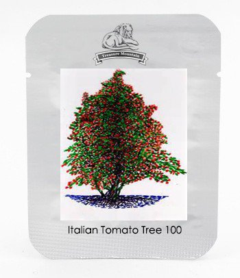 Italian Giant Tomato Tree Seeds & Red Climbing Strawberry Seeds each 100 seeds