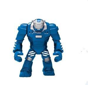 Marvel Super Hero Avengers Big Minifigure Blue Iron Man Blocks Figures Toys