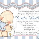 B is for Babies * Shower Invitation/Announcement (#B4Baby_01)