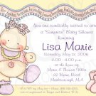 B is for Babies * Shower Invitation/Announcement (#B4Baby_03)