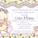 B is for Babies * Shower Invitation/Announcement (#B4Baby_04)