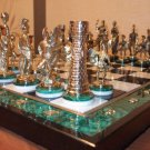 Chess set. Gift for men. Personalised gift. Antique. Rome. Greece. Elite gift. Status. Personal.