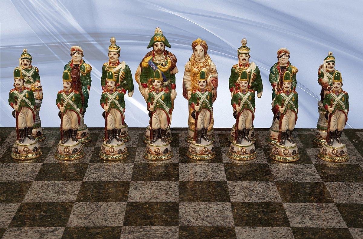 Chess. Elite. Status. Luxury. Antique. Luxury present. Elite gift. Porcelain. Gold