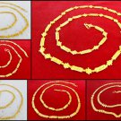 Ethnic Women Fashion Jewelry Indian Gold Plated Long Chain Necklace Mala 22 Inch
