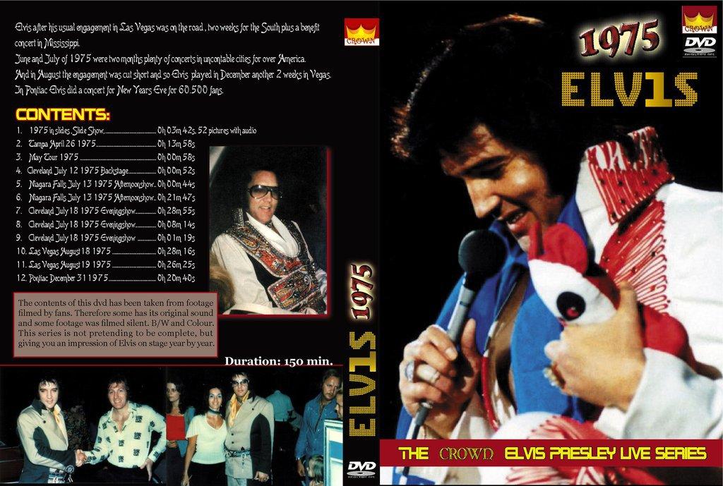 Elvis - Live In Concert 1975 DVD